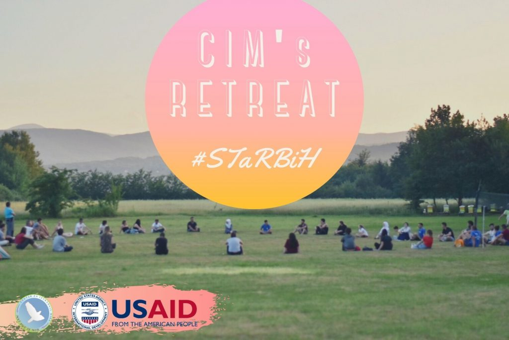CIM's retreat poster